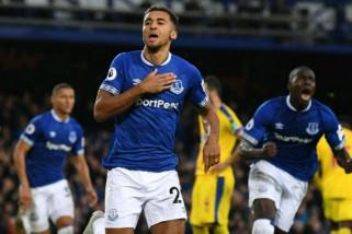 Setelah kalahkan Palace 2-0, Everton naik ke peringkat ke-8