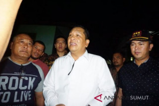 Lima kecamatan di Padangsidimpuan rawan longsor