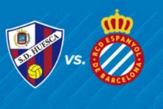 Espanyol naik ke peringkat ke-2, setelah kalahkan Huesca