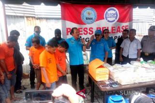 BNN gagalkan penyeludupan 53 kg shabu