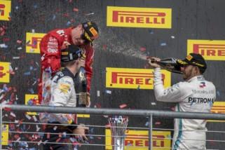 Raikkonen juara GP AS, Hamilton belum pastikan juara