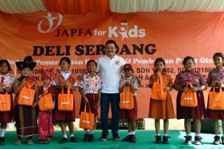 Japfa bagi ribuan paket gizi untuk pelajar