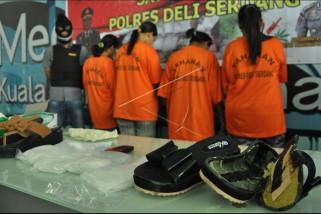 Polisi amankan wanita bawa sabu di Bandara Kuala Namu