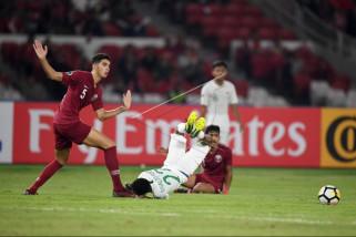 Timnas U-19 Indonesia dikalahkan Qatar dengan skor 5-6