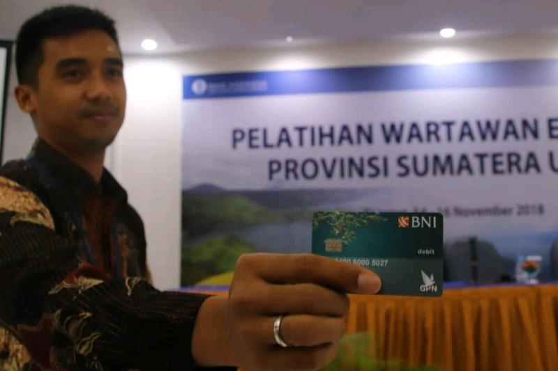 Pemegang kartu GPN di Sumut 1,3 juta