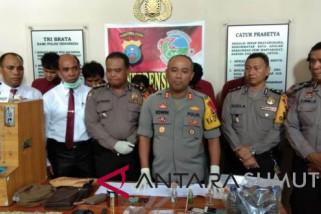 Polres Sibolga sikat lima anggota jaringan narkoba