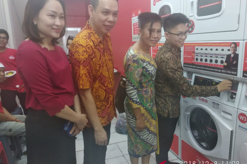The Laundry Wash terus kembangkan gerai di Medan