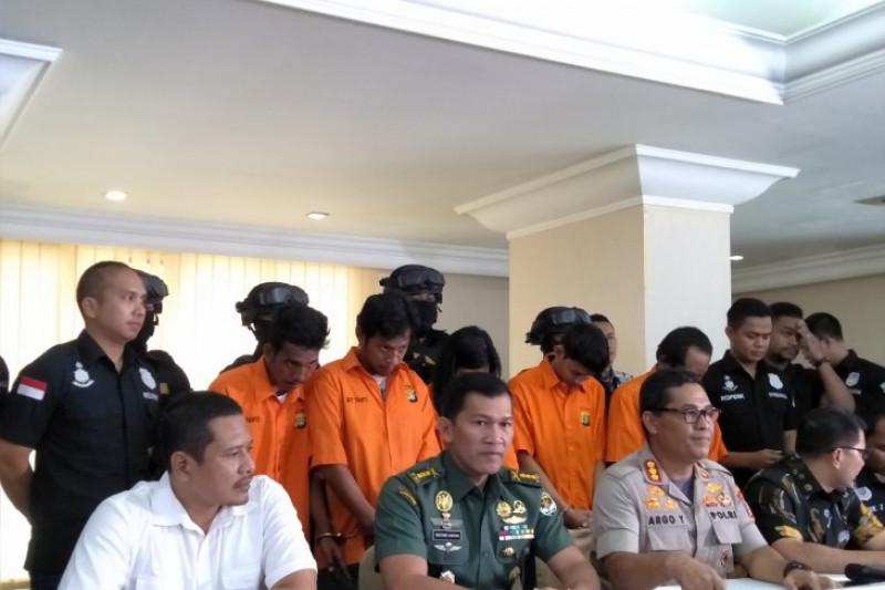 Lima penganiaya anggota Paspampres dan TNI ditangkap