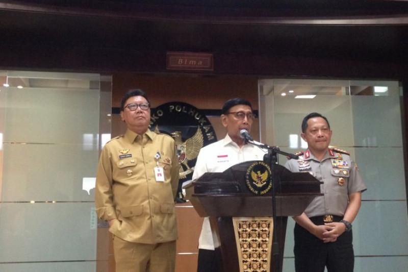 Wiranto pastikan peristiwa di Ciracas bukan polemik TNI-Kepolisian