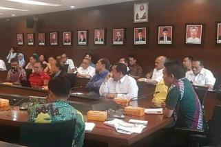 Bupati Samosir rakor dengan Kementerian PUPR