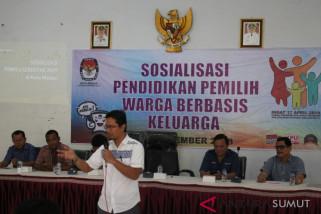 KPU Medan sosialisasi pemilu berbasis keluarga