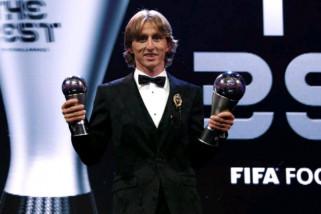 Modric patahkan duapoli Ronaldo-Messi menangi Ballon d'Or 2018